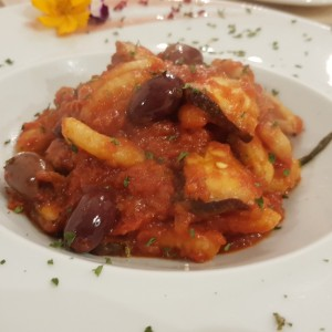 Cavatelli al pulpo