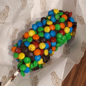 M&M Dipped Marshmallow