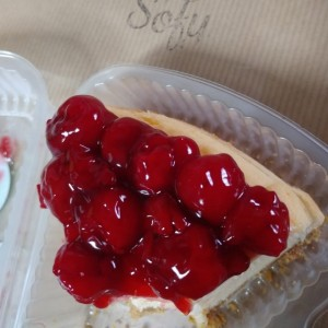 Cheesecake de Cerezas
