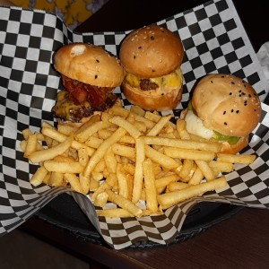 Burgers - Mini Sliders