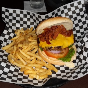 Burgers - Bacon Cheese