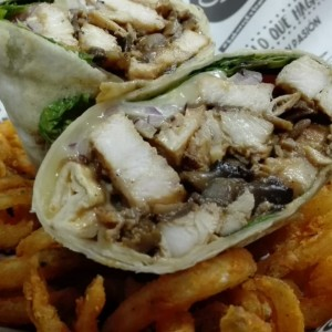 chicken Musrhroom Wrap