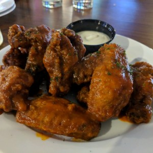 Wings in Matapuerco sauce
