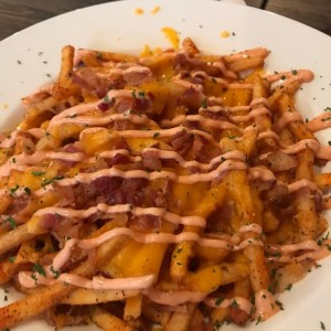Entradas - Bacon fries