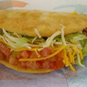 chalupa doble bacon y pollo