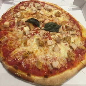 pizza de pollo