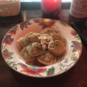 pelmeni with meat