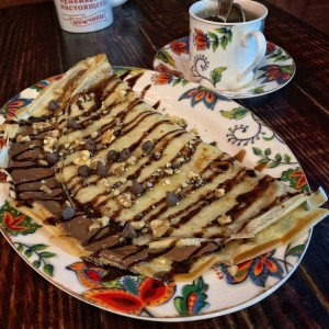 Blini de Nutella
