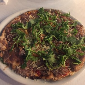Pizza de Carpaccio de Res