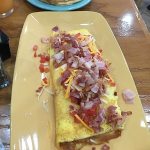 Bacon Temptation Omelette