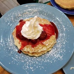 New York Cheesecake Pancakes
