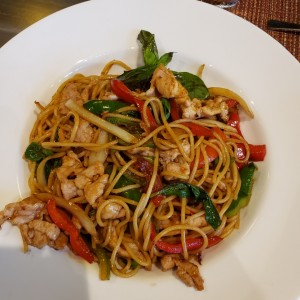 NOODLES - THAI SPAGHETTI WITH PORK