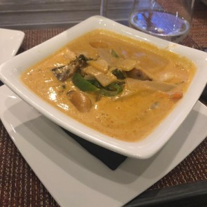 CURRY - PANANG CURRY with duck