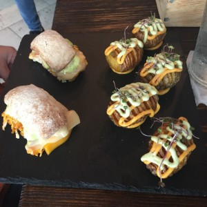 Sliders de pollo