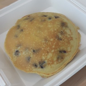 blueberries pancakes