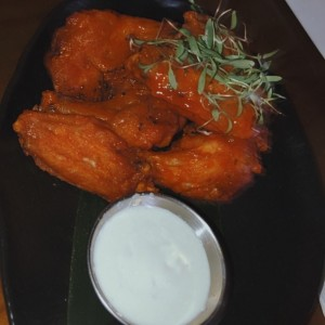 SMALL PLATES - Buffalo Hot Wings