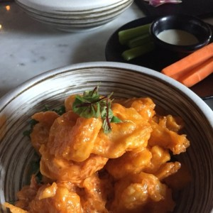 SMALL PLATES - Spicy Shrimp