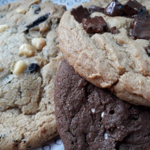 Galleta XL chocolate chunk, smores, cookies