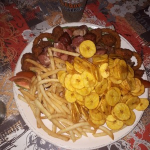 picada de carnes familiar