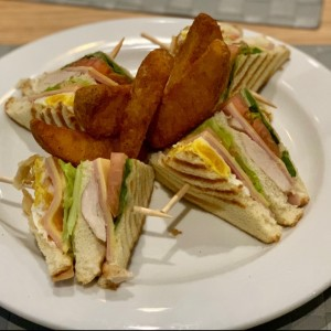 HANDHELD - CLUB SANDWICH
