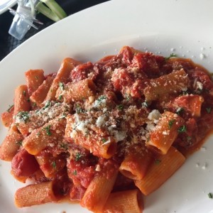 Rigatoni all? Amatriciana
