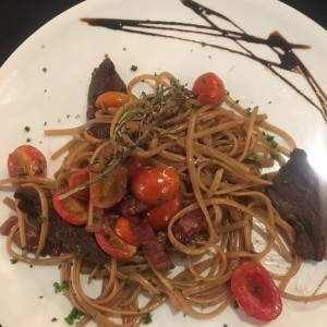 linguini al filete