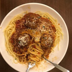 Make your own Pasta - Spaguetti, Marinara y Meatballs