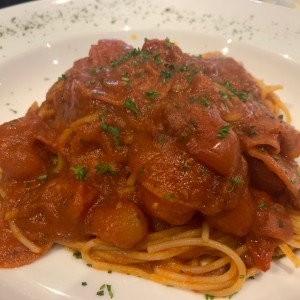 Spaghettine con Pepperone