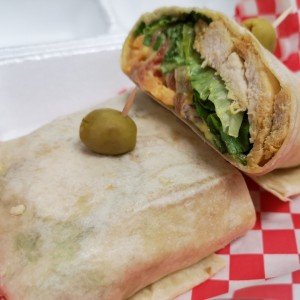 Wrap de Pollo Honey Mustard