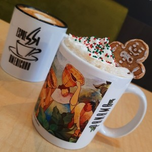 Ginger bread coffee