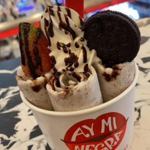 Cookies and Cream con Fresas