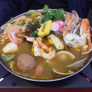 hot pot base mariscos