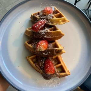 Brunch - Nutella Waffles