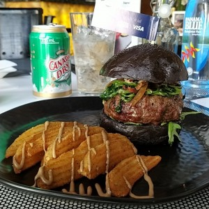 Black Garlic Burger