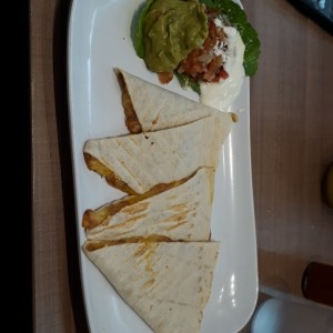 bean quesadilla