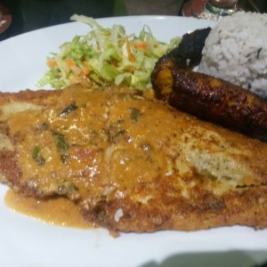 filete de pescado al caribe