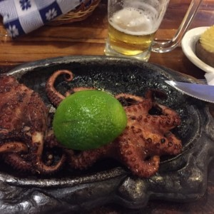pulpo al carbón