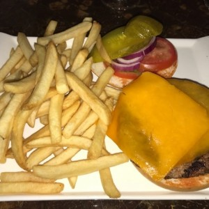 Marriott Bacon Cheese Burger