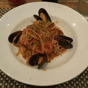 Linguine frutos del mar