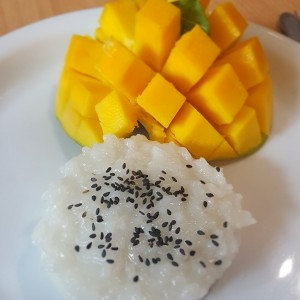 Sticky Rice (postre)