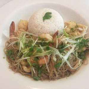 Thai seafood & Ginger Noodles