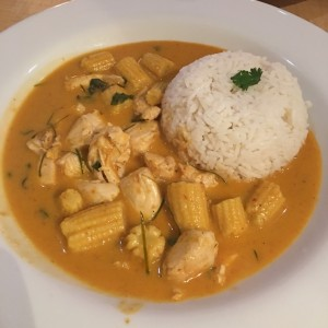 Thai curry - Red * de Pollo