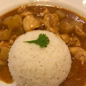 Curry Nasam de pollo.