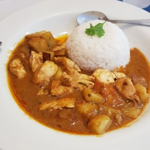Curry Panang de Pollo