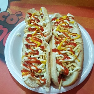 hot dog clasico