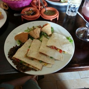 Especialidades Mexicanas - Quesadillas Vegetarianas
