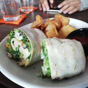 Wrap Buffalo Chicken