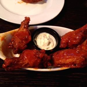 Chicken wings picantes