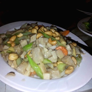 Cashew Chicken  vegetariano