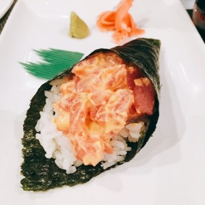 Temaki - Spicy tuna